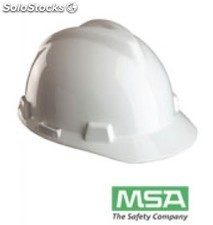 Casco msa one touch 4 puntos