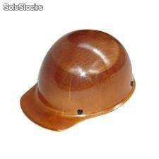 Casco msa skullgard color nat tipo gorra