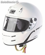 Casco omp grand prix 7 s blanco talla l