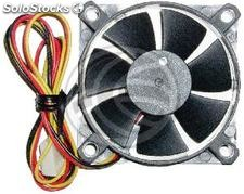 Case fan 60x60x15 mm for 12 VDC for computer and chassis (VL64)