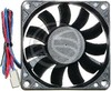 Case fan 70x70x15 mm for 12 VDC for computer and chassis (VL65)