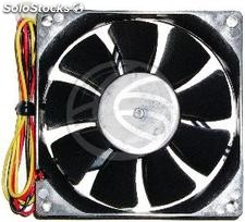 Case fan 80x80x20 mm for 12 VDC for computer and chassis (VL66)