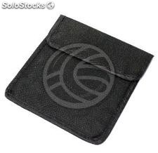 Case for photographic filters padded black canvas (EE05)