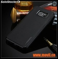 case MOTOMO 3 en 1 híbrido PC + TPU caso para samsung galaxy s6 edge plus