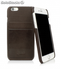 CASEual Leather Back iPhone 6s, Italian Mocca
