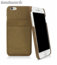 CASEual Leather Back iPhone 6s, Vintage Sand