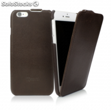 CASEual Leather Flip iPhone 6s, Italian Mocca