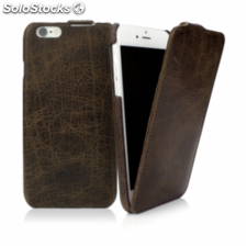 CASEual Leather Flip iPhone 6s, Vintage Mamut