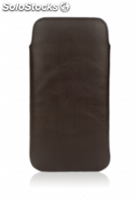 CASEual Leather Pouch iPhone 6s, Italian Mocca