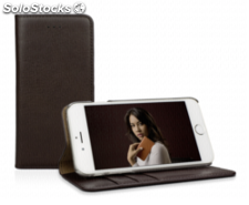 CASEual Leather Wallet iPhone 6s Plus, Italian Mocca