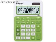 Casio calculadora sobremesa casio ms-20nc 10 digitos solar y pilas verde ms-20nc