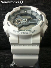 Casio g shock ga-110C-7AER blanco x large analógico y digital a estrenar