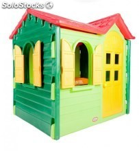 Casita infantil country cottage evergreen altura 114 cm klt77442