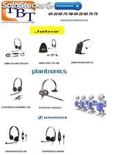 casque jabra ,plantronics...