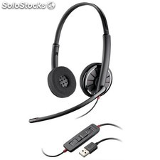 Casque plantronics C320 usb duo