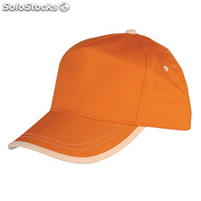 Casquette Enfant Boston Orange/Natural S/T