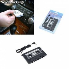 Cassette adaptador caset cinta a movil MP3 MP4 CD DVD
