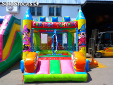 Castillo hinchable casita de bolas