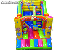 Castillo hinchable con tobogan