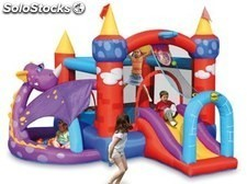 Castillo hinchable dragon fantasia 350 x 350 x 245 cm