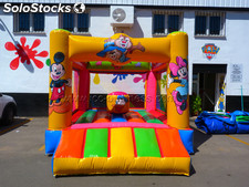 Castillo hinchable multired