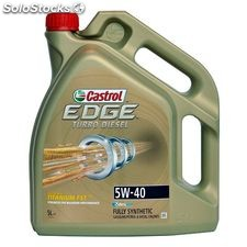 Castrol edge turbo diesel 5W40 5 lt