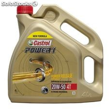 Castrol power 1 4T 20W50 (act-evo) 4 lt