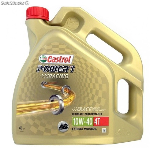 Castrol power 1 racing 4T 10W40 4 lt