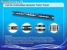 Cat 5e patch panel,network accessory, acessório de rede