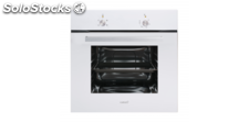 Cata se 6004 wh horno estatico cristal blanco abatible full glass