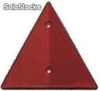 Catadióptrico triangular rojo