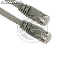 Category 5e FTP cable gray flat 50cm (RY72)