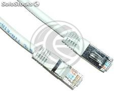 Category 5e FTP cable white 50cm (RY12)