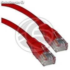 Category 5e UTP cable red 25cm (RL01)