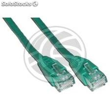 Category 6 UTP cable green 25cm (RJ21)
