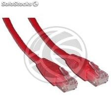 Category 6 UTP cable red 25cm (RJ01)