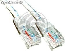 Category 6 UTP cable white 50cm (RY22)
