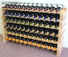 Cavas Modulares para guardar botellas de vino. Capacidad 12 botellas.
