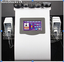 Cavitation rf vacuum lipo laser slimming machine