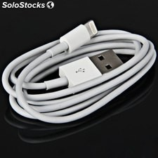 Cavo Caricabatteria Dati USB per iPhone Apple - Pad - Bianco - 1 Mt.