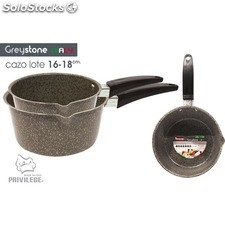 Cazo 2UDS 16-18CM/1MM greystone - privilege - 8433774601067 - BE06012560106