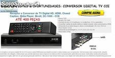 Cce - Receptor e Conversor de tv Digital hd, hdmi, Midia Player, bivolt(Revenda)
