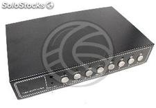 CCTV Quad System for 8-channel video and 4 audio channels (VV22-0002)