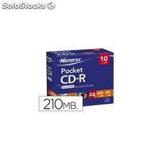 CD-r memorex mini capacidad 21