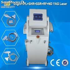 CE / FDA approval skin rejuvenation elight ipl rf nd yag laser hair removal mach