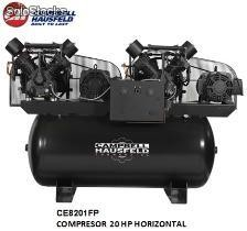 Ce8201fp compresor 20 hp horizontal campbell (Disponible solo para Colombia)