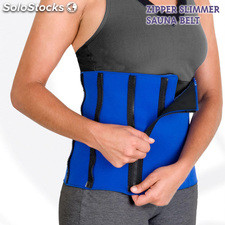 Ceinture de Sudation Zipper Slimmer Sauna Belt