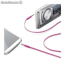 Celly - LINEIN35PK 3.5mm 3.5mm Rosa cable de audio