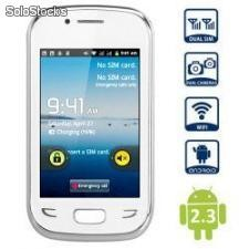 CELULAR ANDROID 2.3 SMART PHONE WITH WVGA SCREEN 1,4GHz WiFi