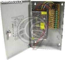 Centralized power supply of 12VDC 10A 9 ports (SJ78)